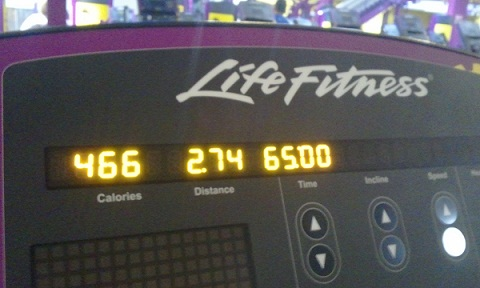 Treadmill stats