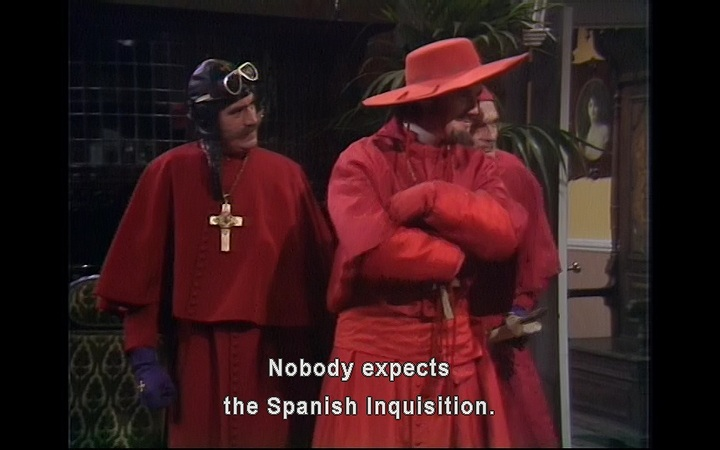 Monty Python's Spanish Inquisition