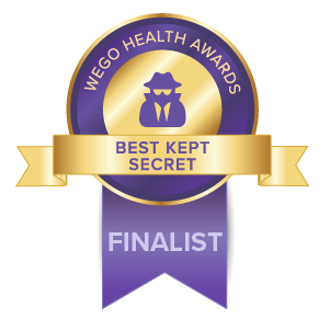 WEGO Health Awards Best Kept Secret Finalist